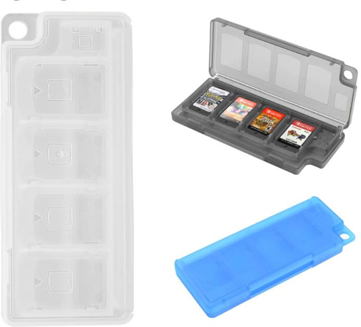 Gamecard case houder 10 slots |Nintendo Switch |Nintendo switch Lite|Wit