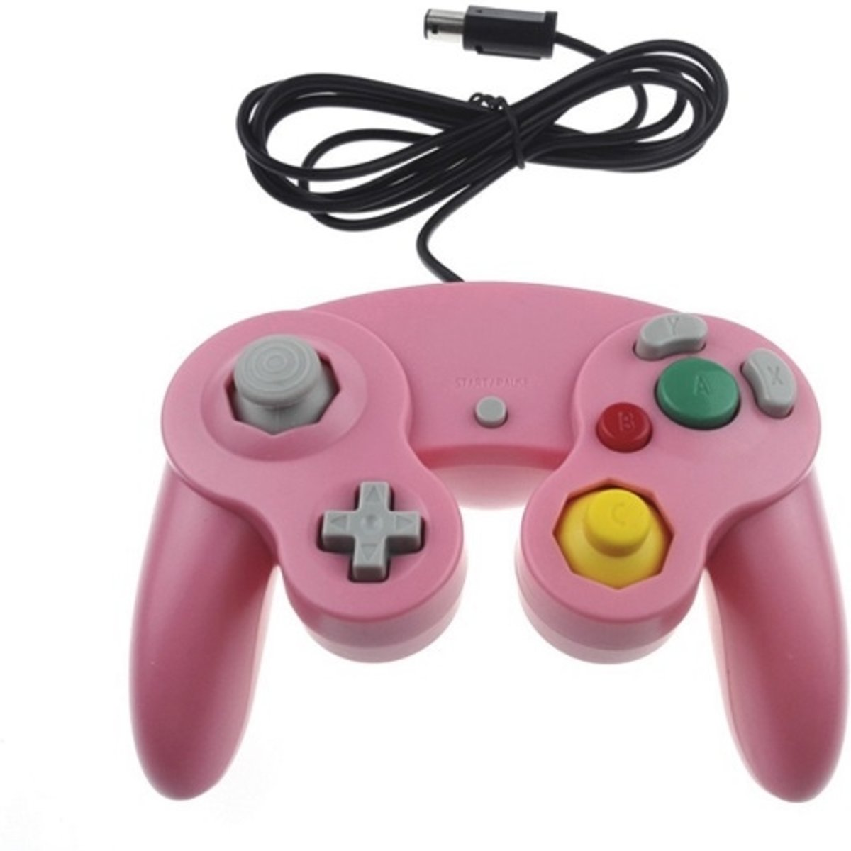 Gamecube Reproduction Controller - Roze