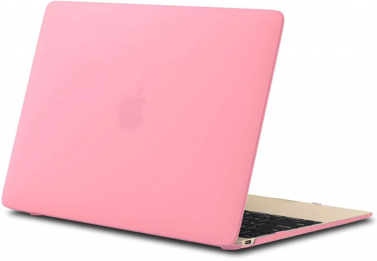 Geeek Hardshell Cover Mat Roze MacBook 12 inch