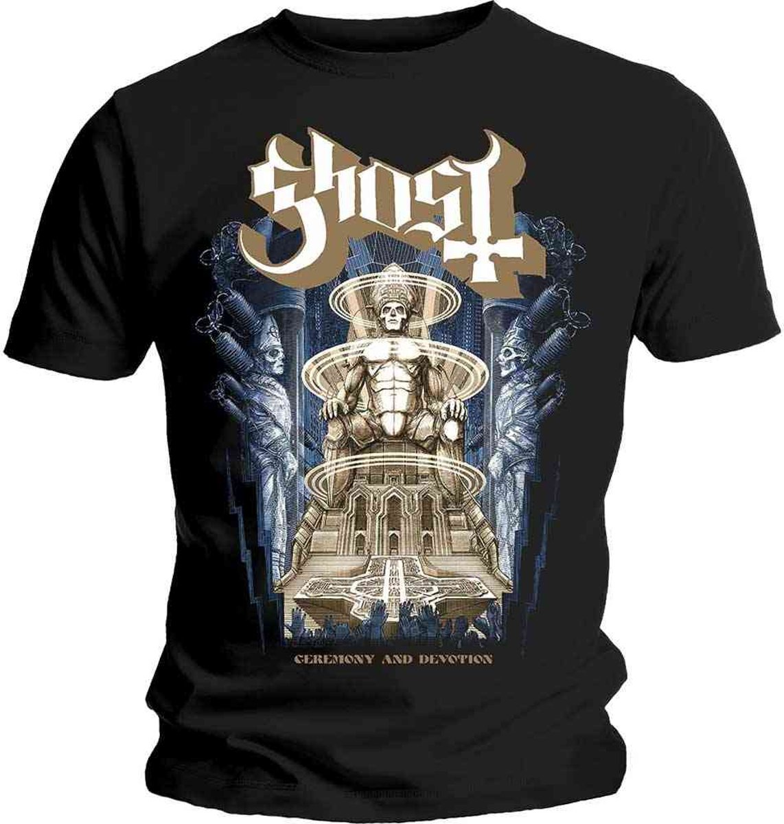 Ghost - Ceremony & Devotion heren unisex T-shirt zwart - L