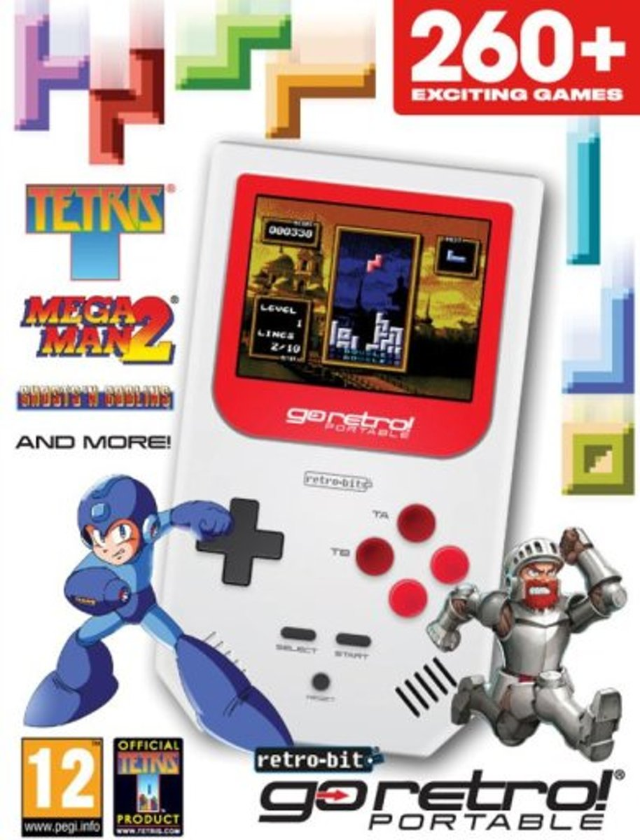 Go Retro! Portable Console