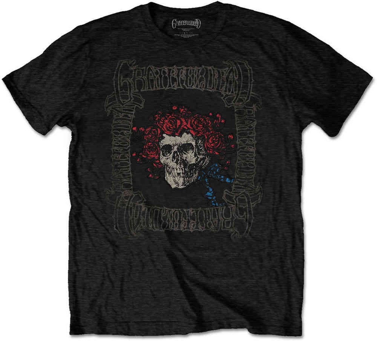Grateful Dead Heren Tshirt -L- Bertha With Logo Box Zwart