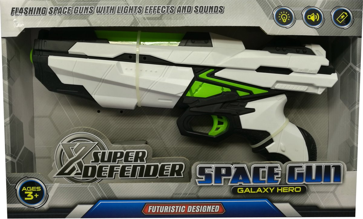 Laser Spacegun