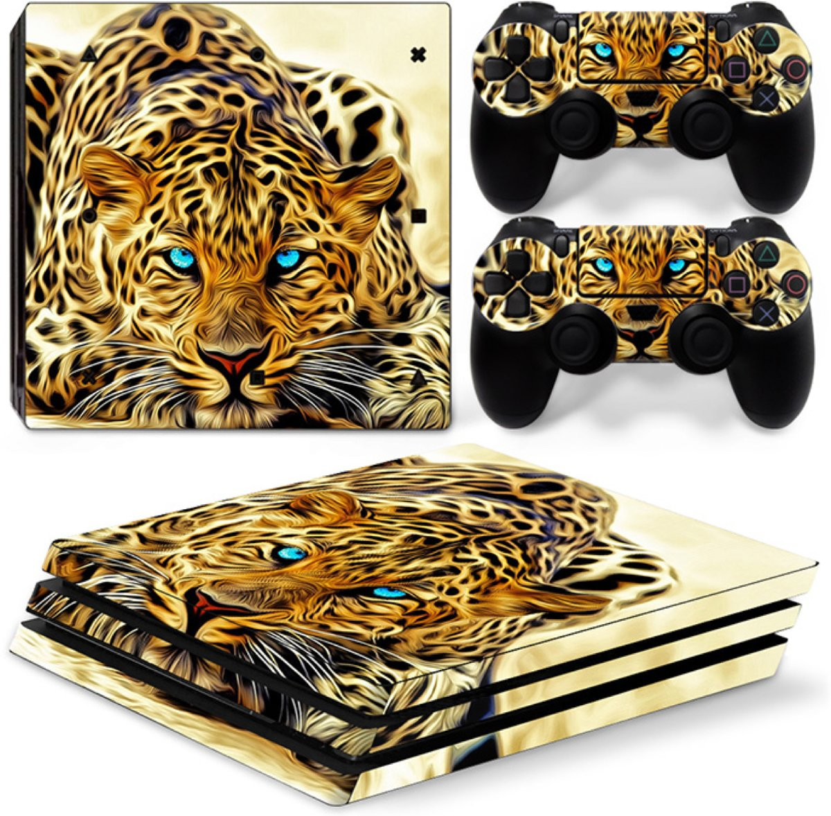 Luipaard - PS4 Pro Console Skins PlayStation Stickers
