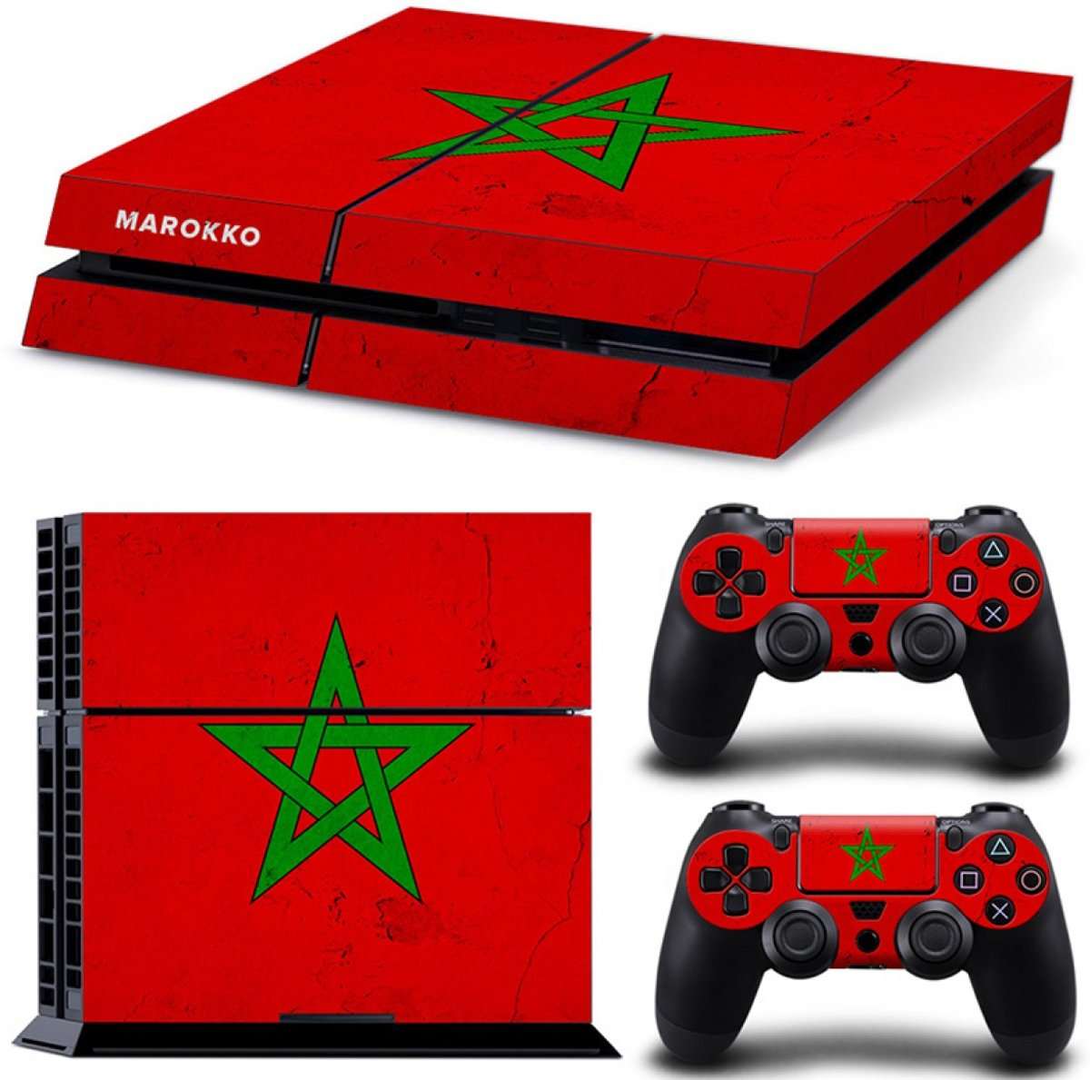 Marokko - PS4 Console Skins PlayStation Stickers