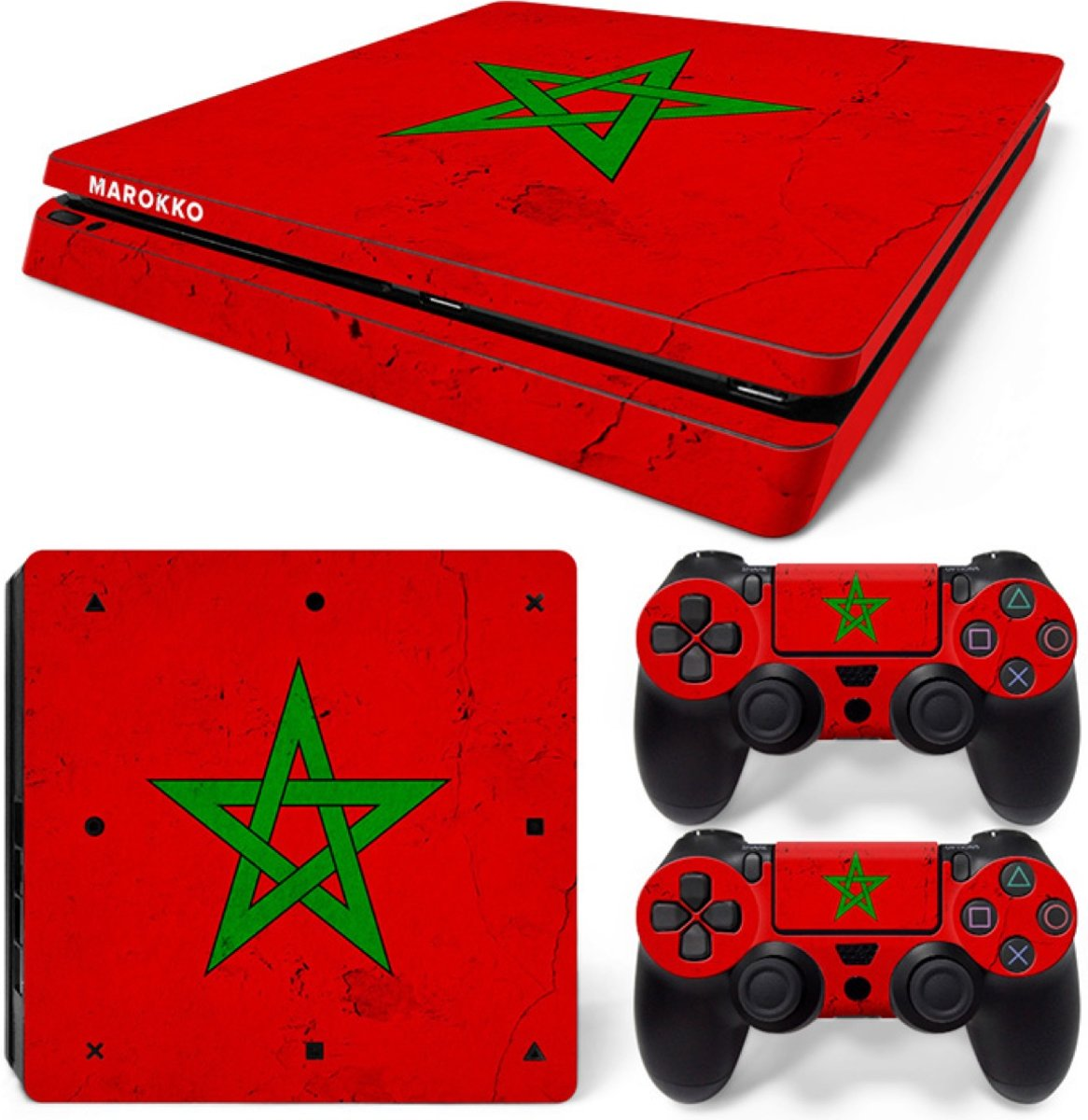 Marokko - PS4 Slim Console Skins PlayStation Stickers