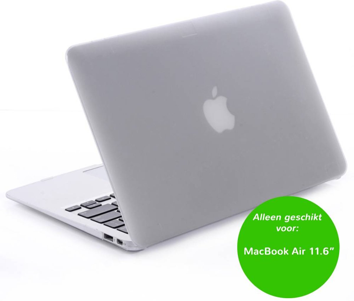 Matte hardcase hoes - MacBook Air 11 inch - transparant