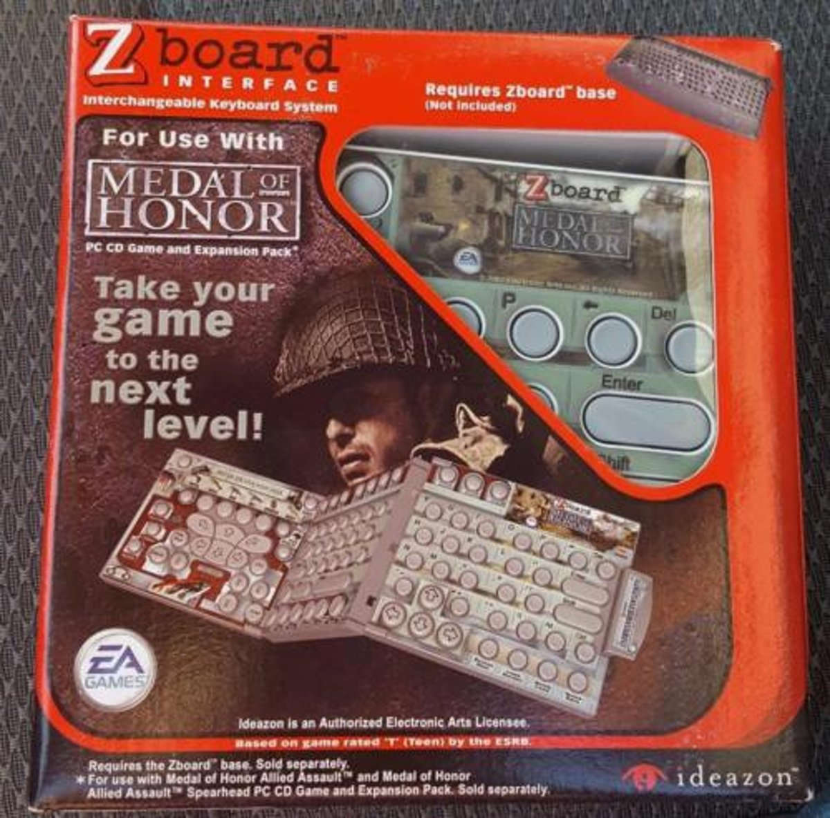 Medal of Honor z board keyboard