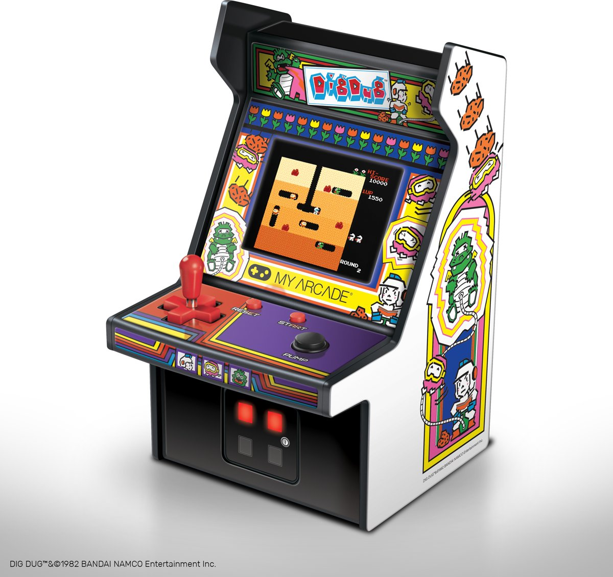 My Arcade RETRO Machine Dig Dug (Retro)