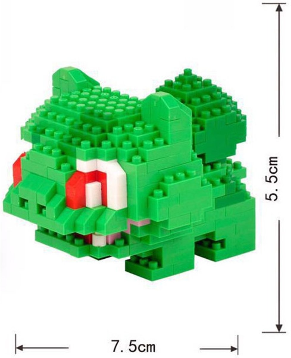 Nanoblocks Bulbasaur Pokemon - LNO