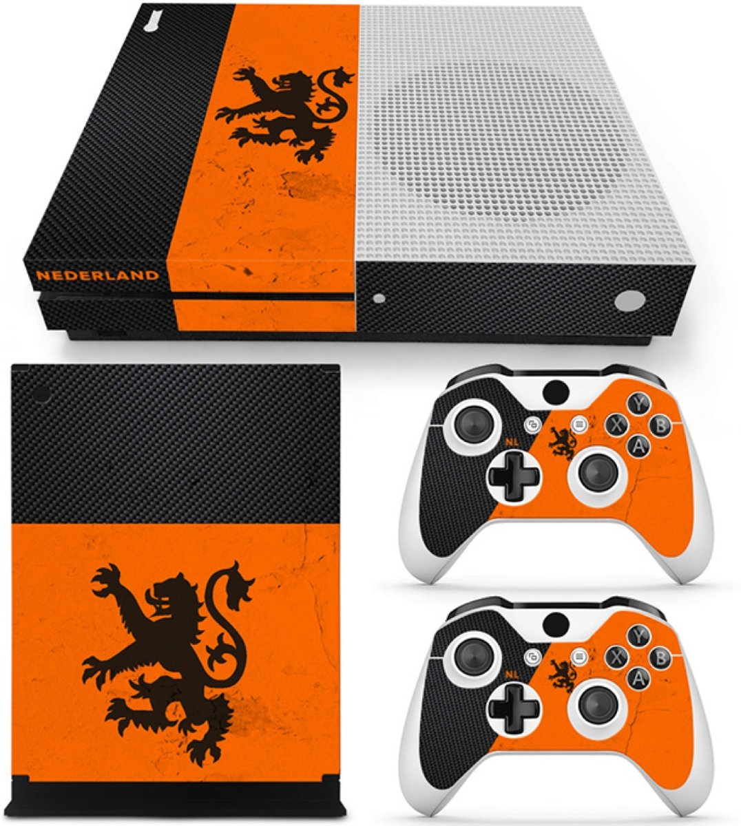 Nederland - Xbox One S Console Skins Stickers