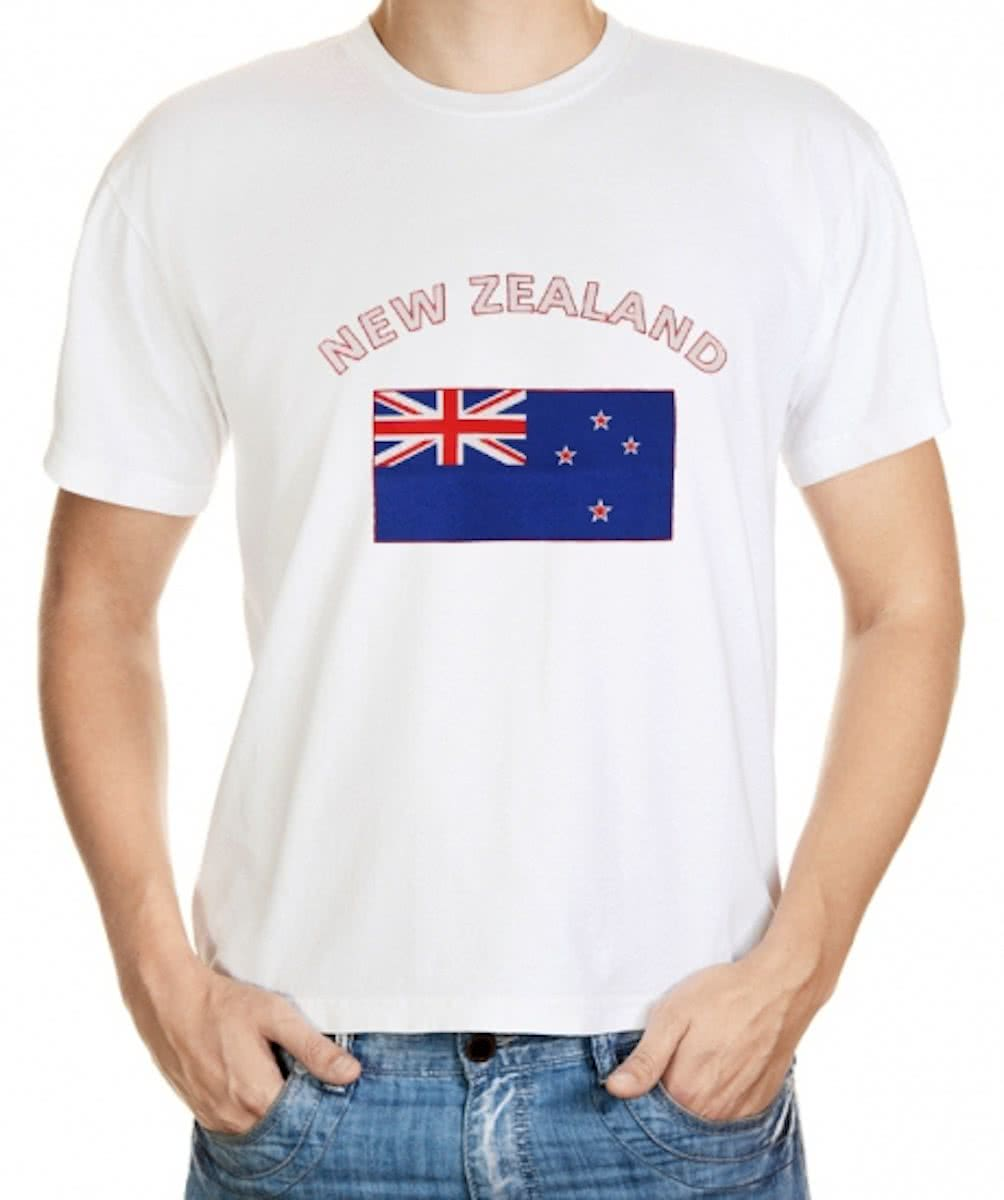 New Zealand t-shirt met vlag Xl