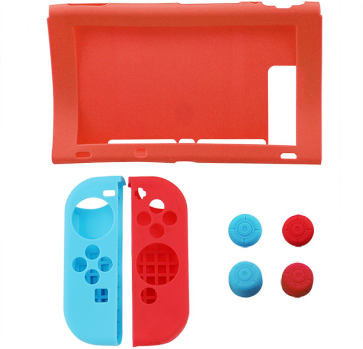 Nintendo Switch - Siliconen case set