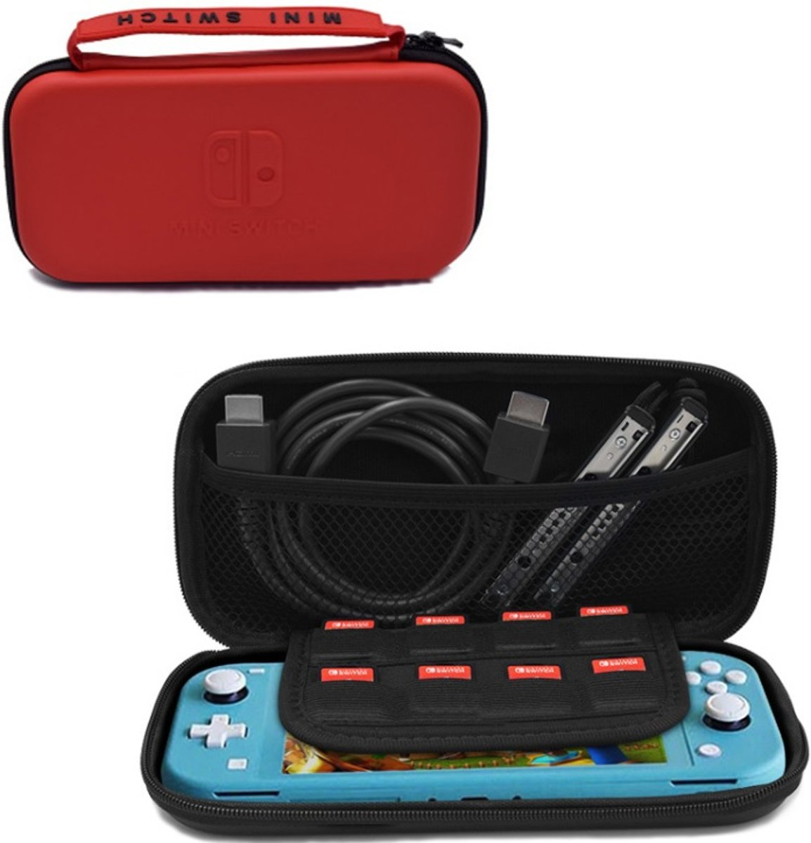 Nintendo Switch Lite - Mini Case Rood