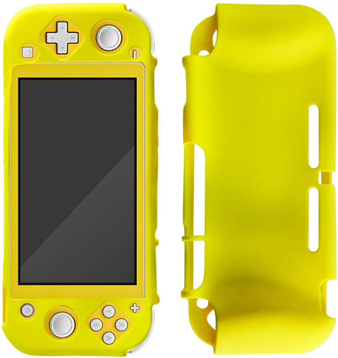Nintendo Switch Lite - Siliconen case Geel