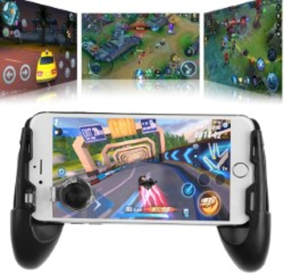 Portable Gamepad - Gamehandles - Smartphone - Iphone/Android - Mobiele Telefoon - PUBG/Fortnite/FPS/Shooters