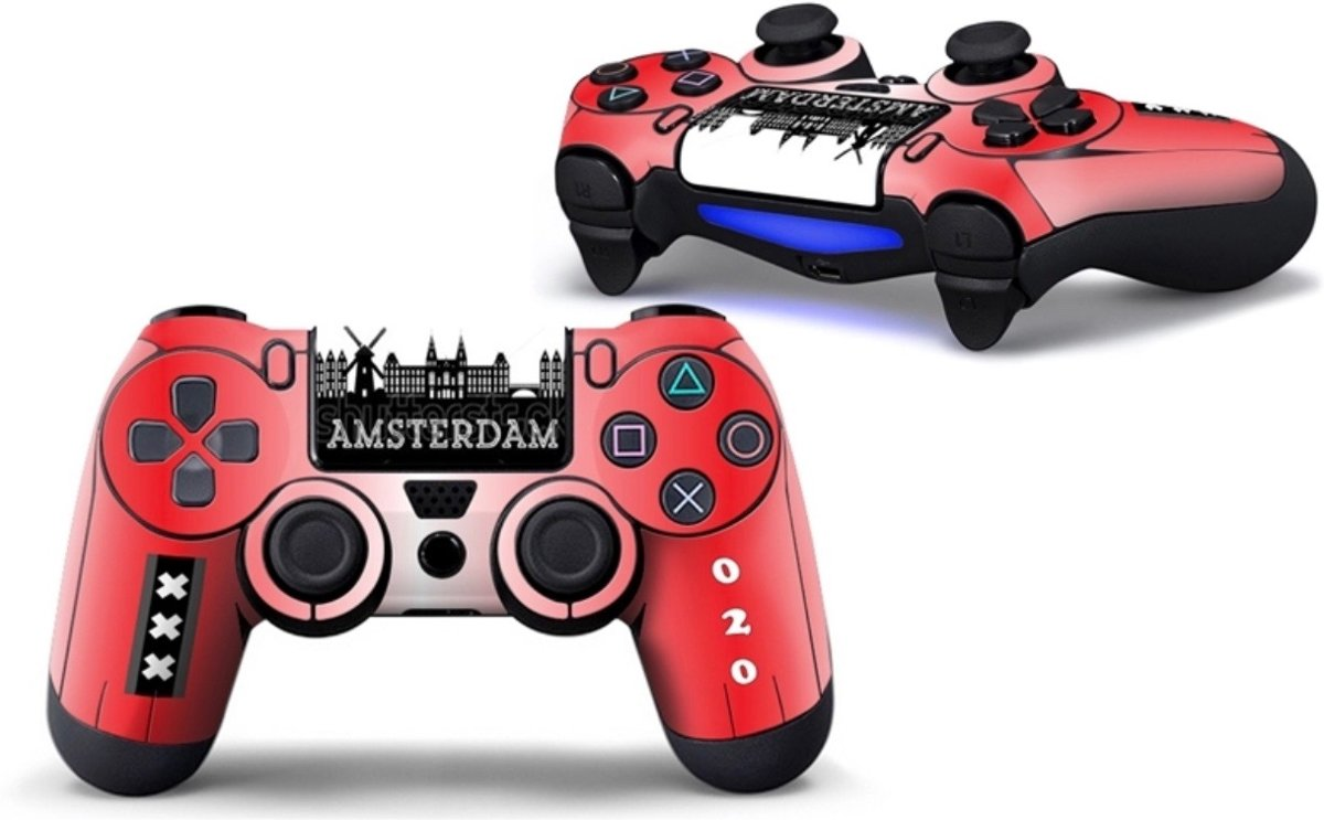 Ps4 controller Skin Amsterdam Playstation 4 controller Sticker