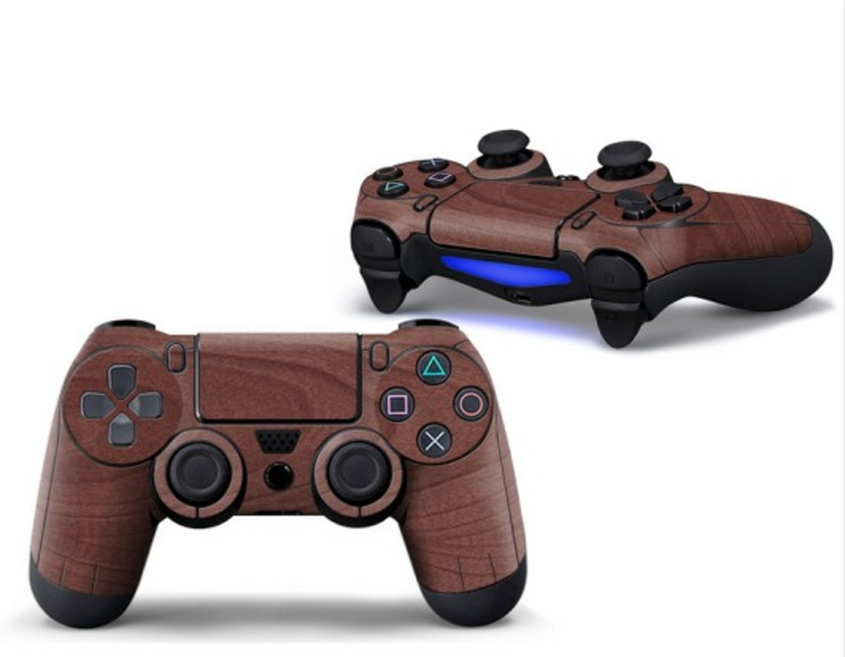 Ps4 controller Skin Bruin Playstation 4 controller Sticker Brown
