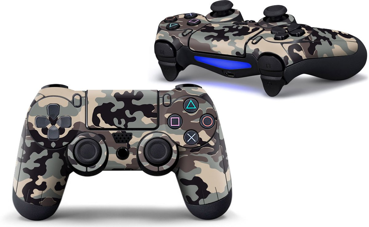 Ps4 controller Skin Camo Playstation 4 controller Sticker Camouflage