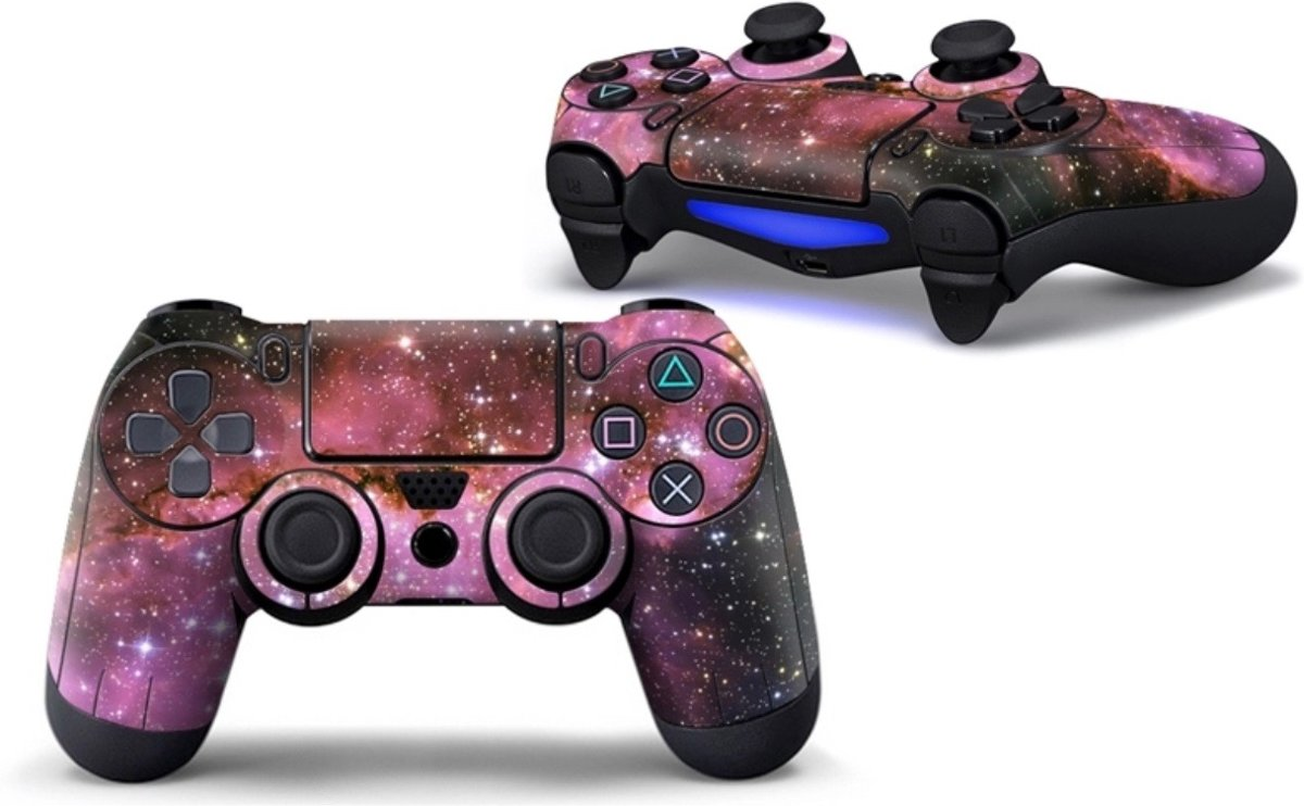 Ps4 controller Skin Galaxy Print Playstation 4 controller Sticker