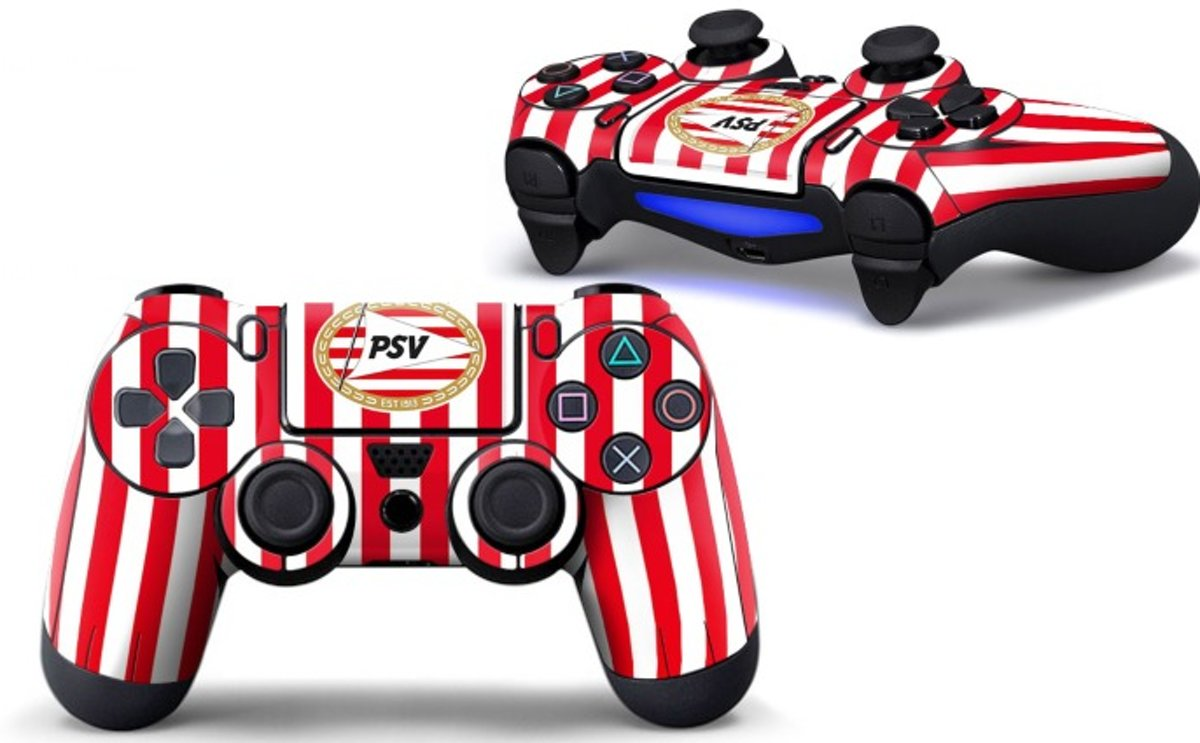 Ps4 controller Skin PSV Eindhoven Playstation 4 controller Sticker