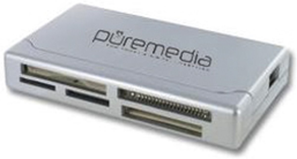 Pure Multi Card Reader SD/MS/micro SD