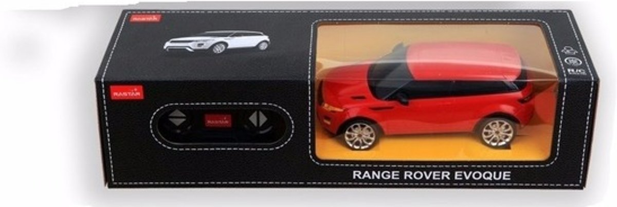 Radiografisch bestuurbare rode Range Rover 911 GTS RS auto 1:24