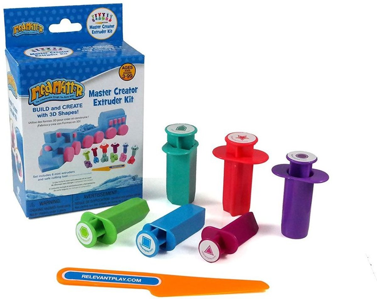 Relevant Play Master Creator & Mini Extruder Set (7-delig)