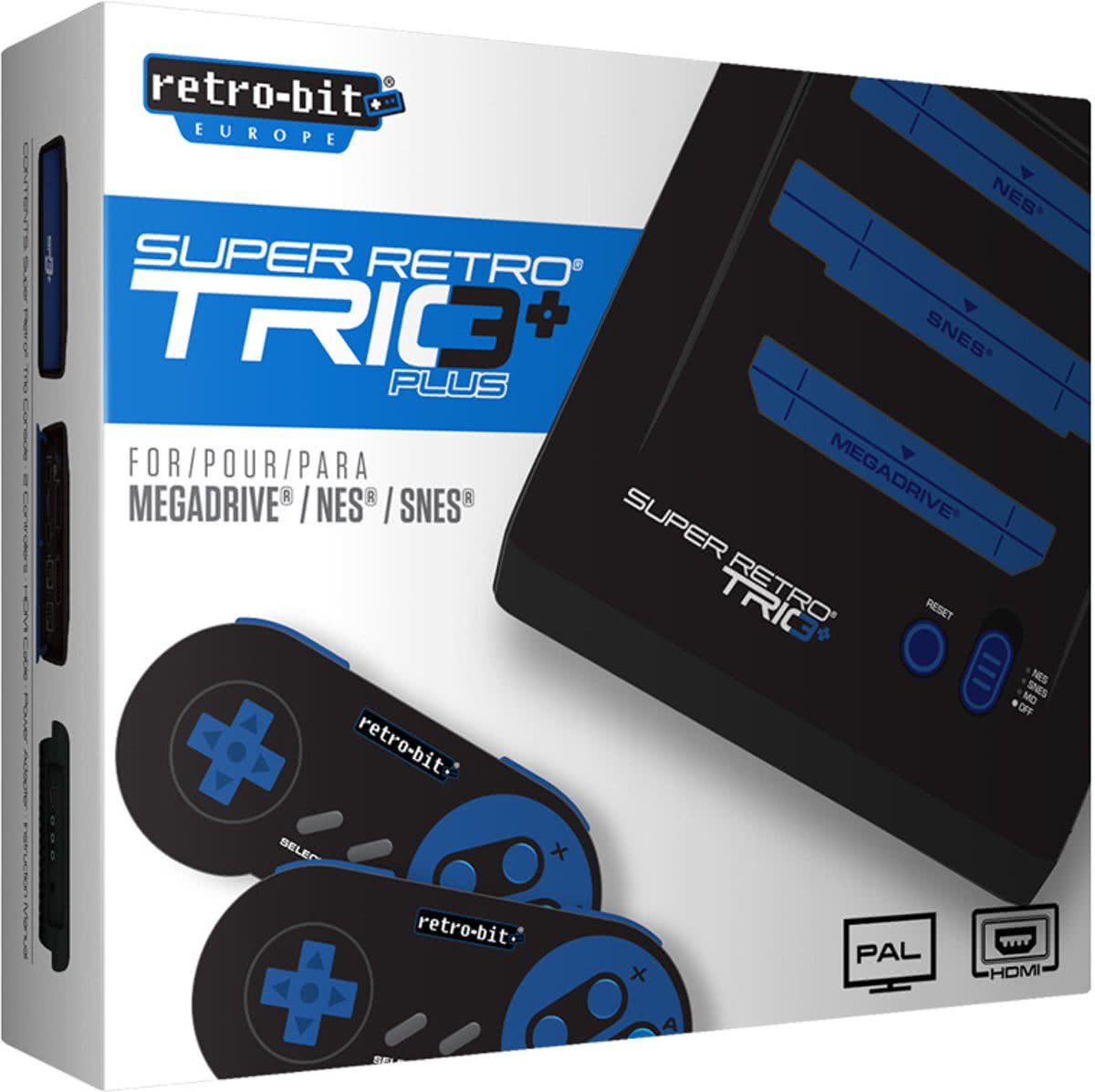 Retro-Bit Super Retro Trio+ HD