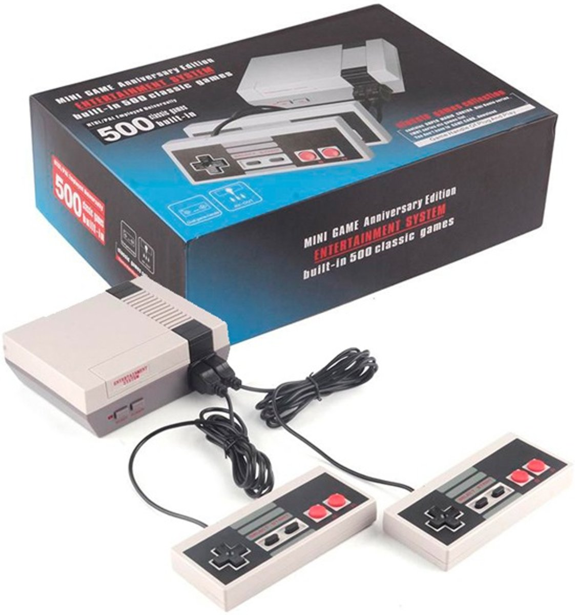 Retro Classic TV Mini Game Console 500 voorgeinstalleerde Games