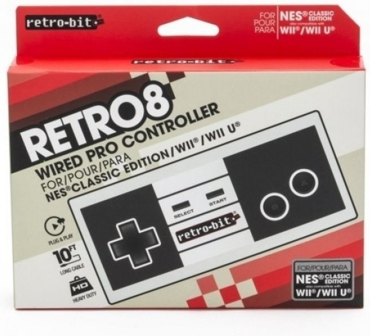 Retro8 Wired Pro   for NES Classic, Wii and Wiiu