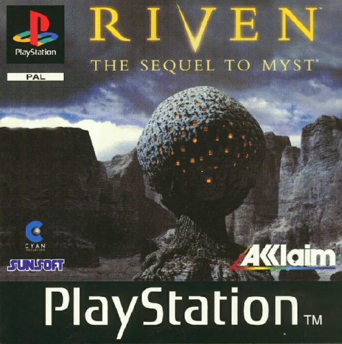 Riven Sequel To Myst PS1