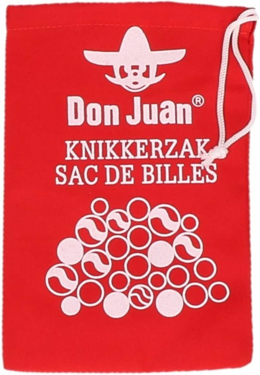 Rode knikkerzak Don Juan