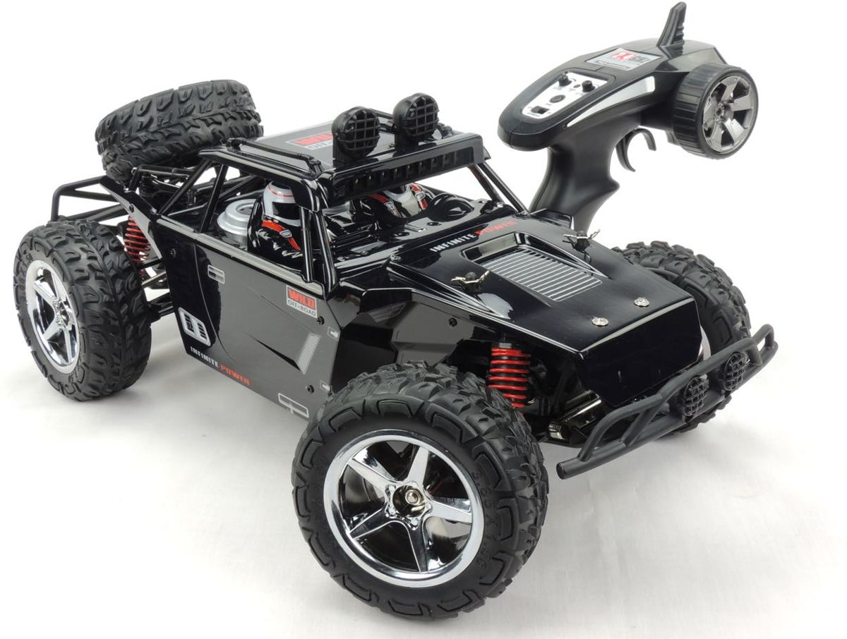 SUBOTECH RC-CAR BG1513-BLACK 1:12 high speed desert buggy 45kmh