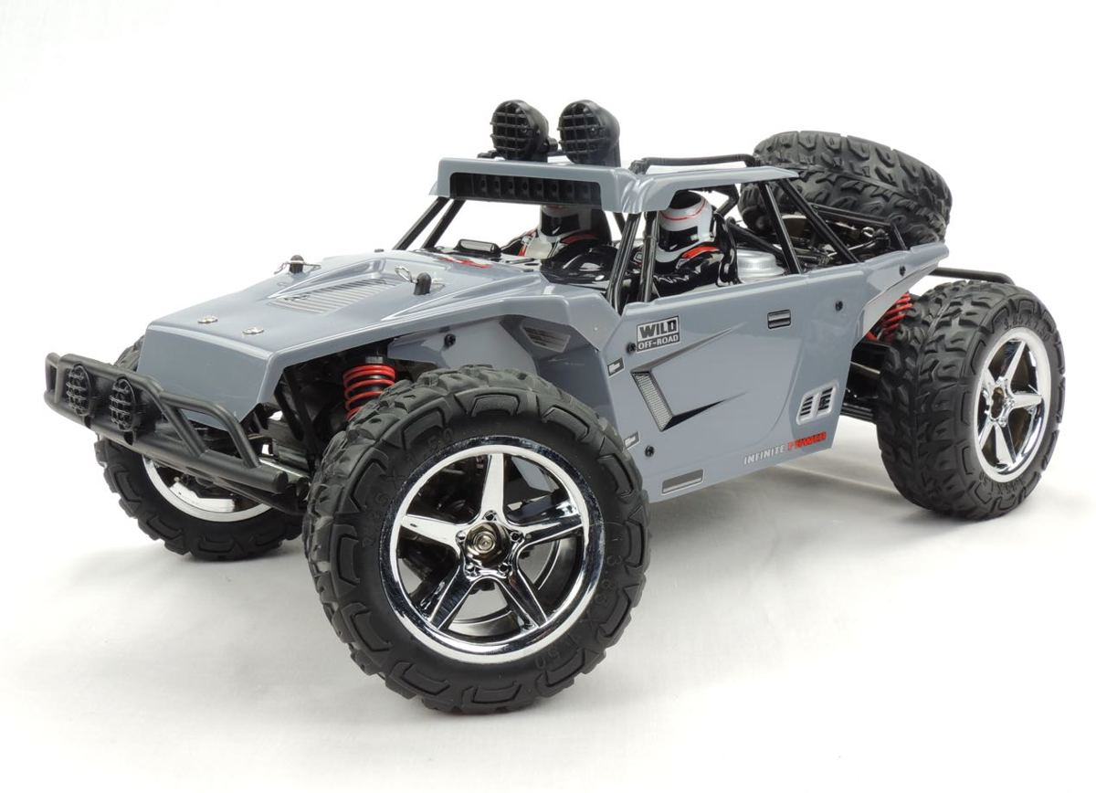 SUBOTECH RC-CAR BG1513-GREY 1:12 high speed desert buggy 45kmh