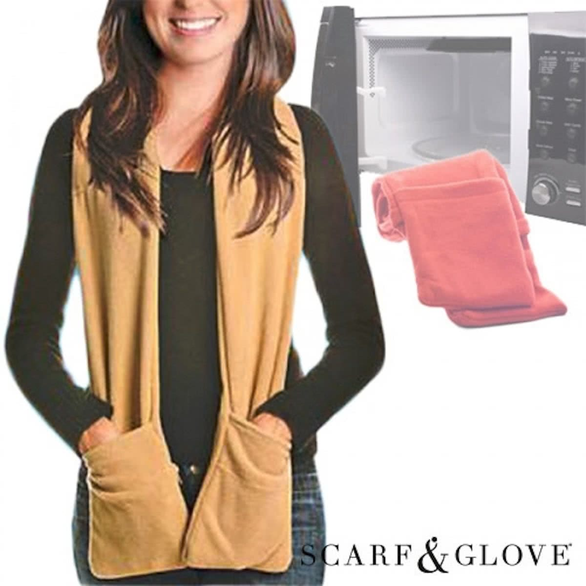 Scarf & Glove for Microwave | Scarf with Pockets