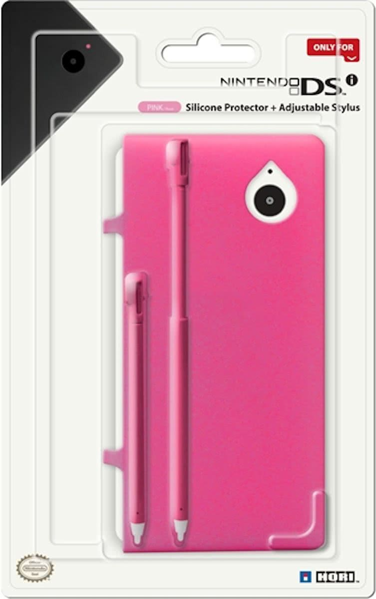 Silicone Protector & Stylus Set - Roze