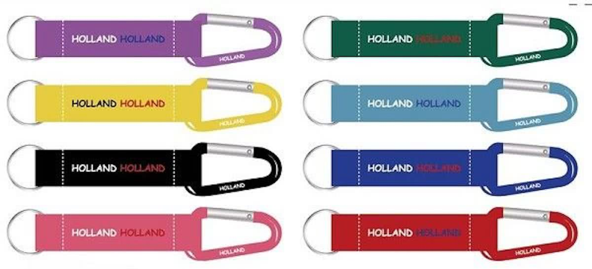 Sleutelhanger lanyard HOLLAND 8ass