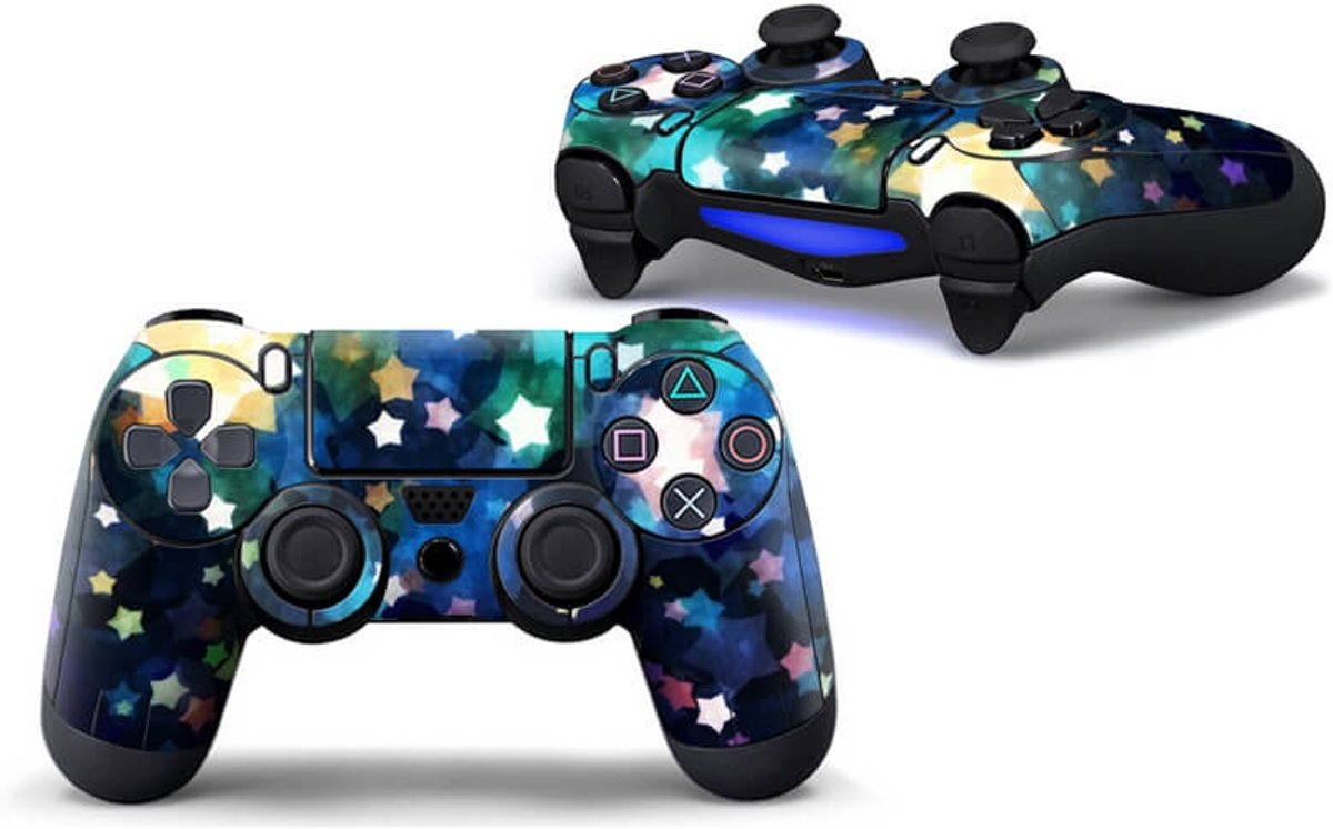 Sparkling Stars - PS4 Controller Skin