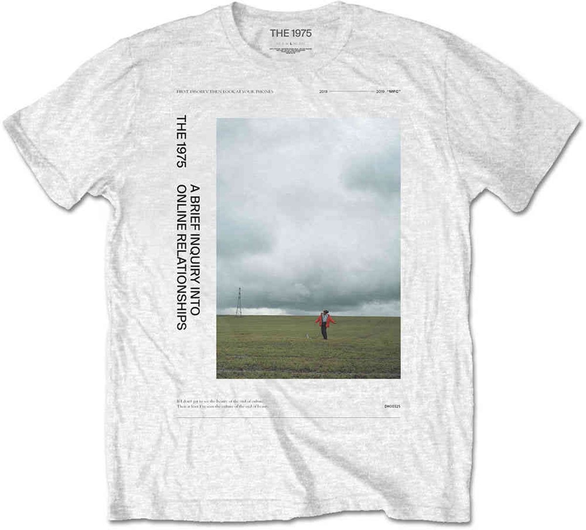 The 1975 Heren Tshirt -M- ABIIOR Side Fields Wit