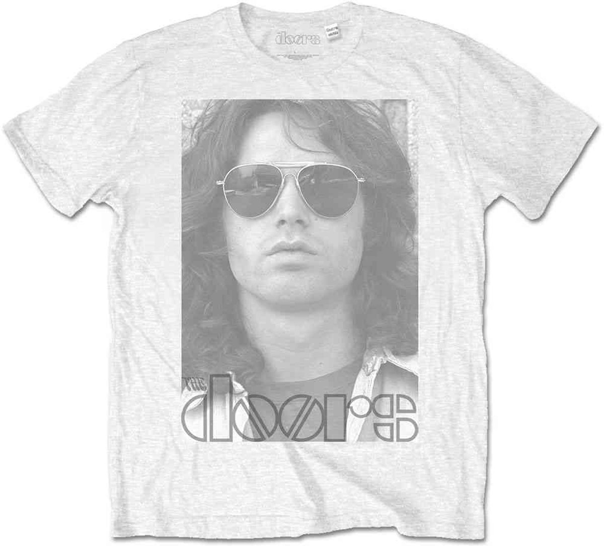 The Doors Heren Tshirt -M- Aviators Wit