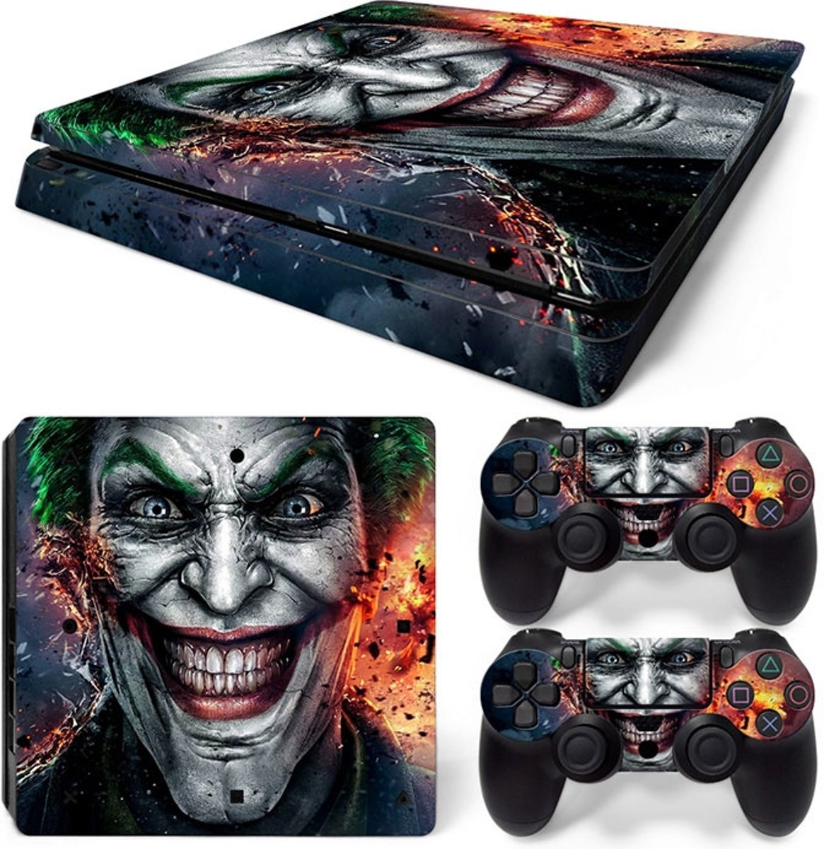 The Joker Crazy - PS4 Slim skin