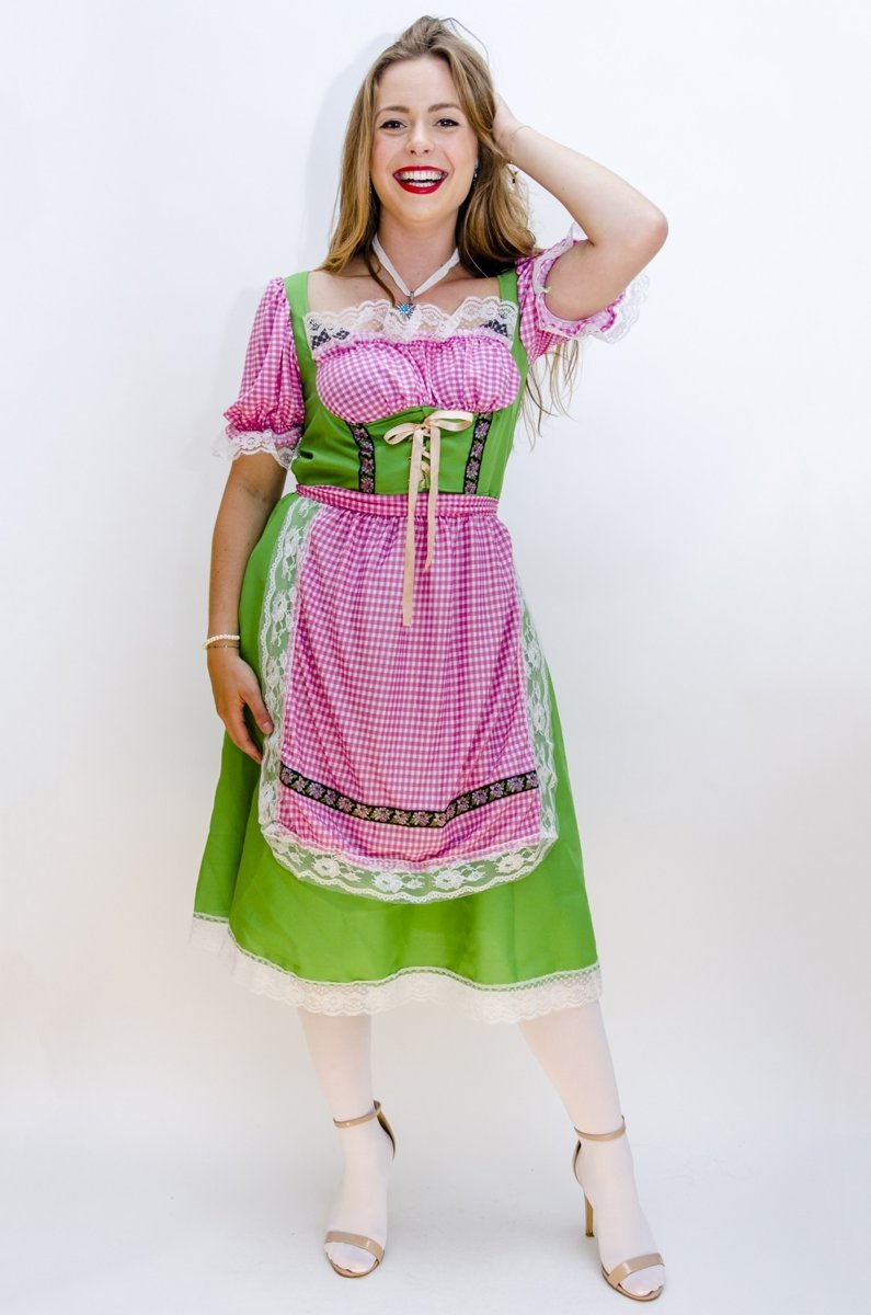 7906e559800e17 Faram Dirndl Dames Babette Groen - XL
