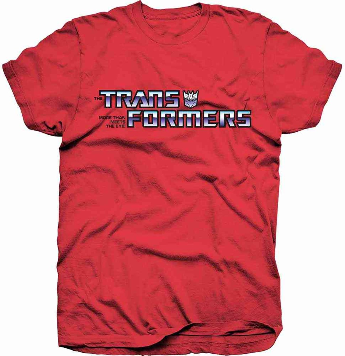 Transformers - Decepticon heren unisex T-shirt rood - S