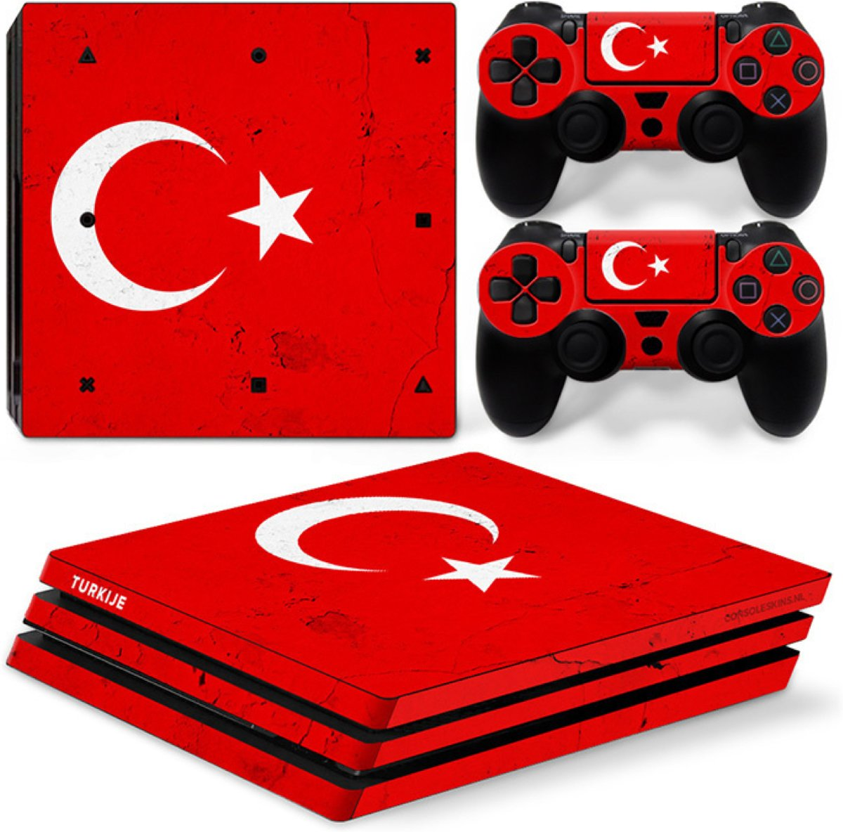 Turkije - PS4 Pro Console Skins PlayStation Stickers