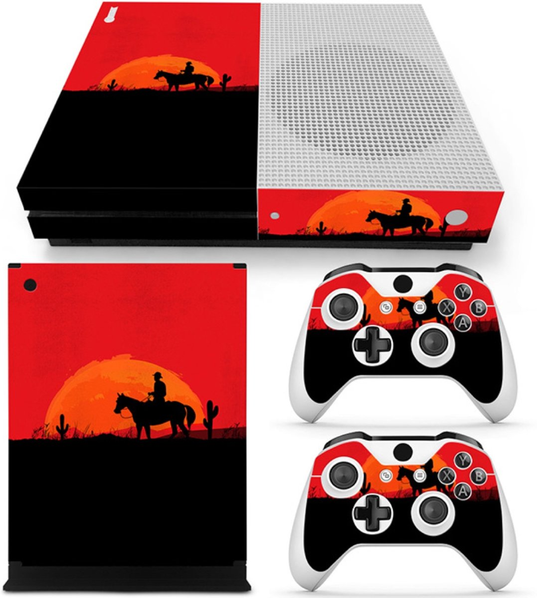 Wild West - Xbox One S Console Skins Stickers