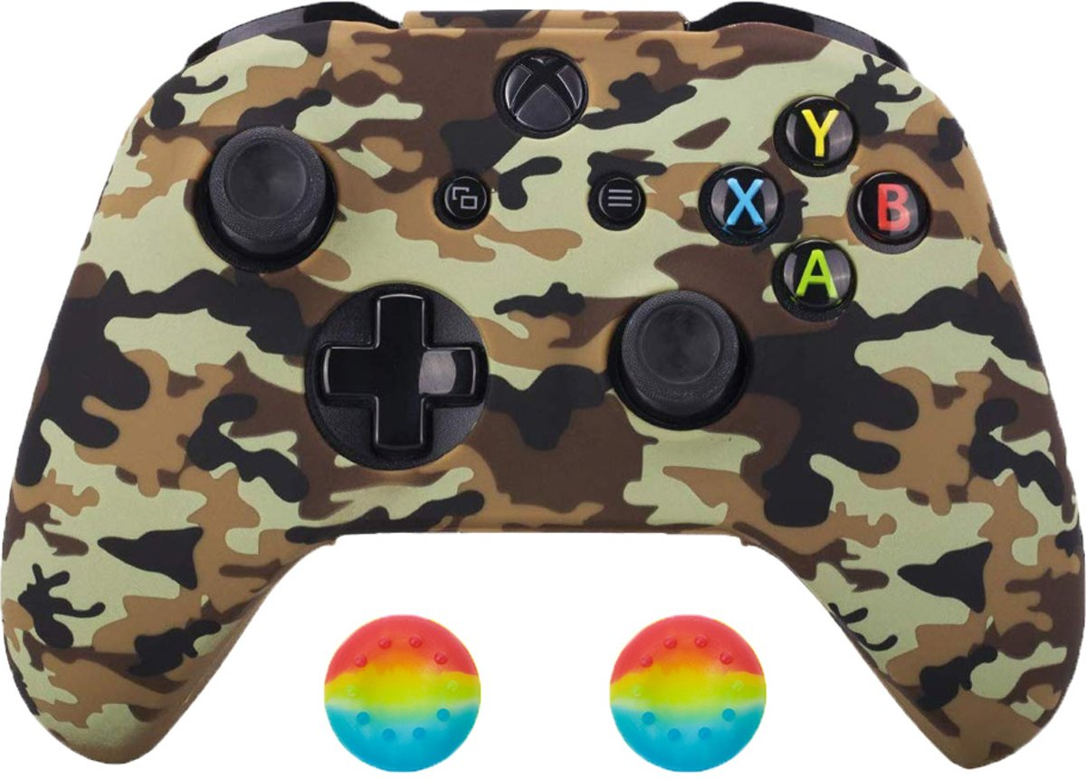 Xbox   Silicone Hoes - Camouflage bruin