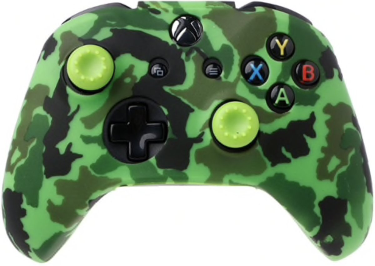 Xbox   Silicone Hoes - Camouflage groen