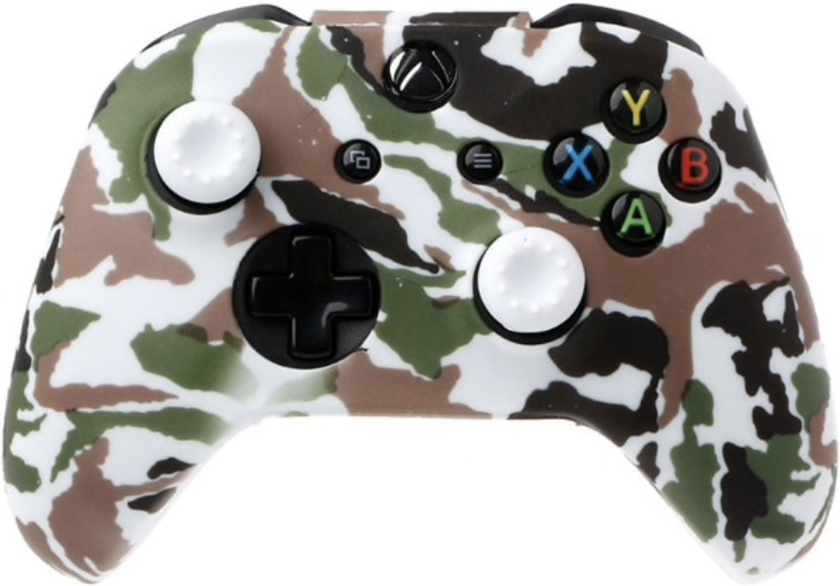 Xbox   Silicone Hoes - Camouflage wit