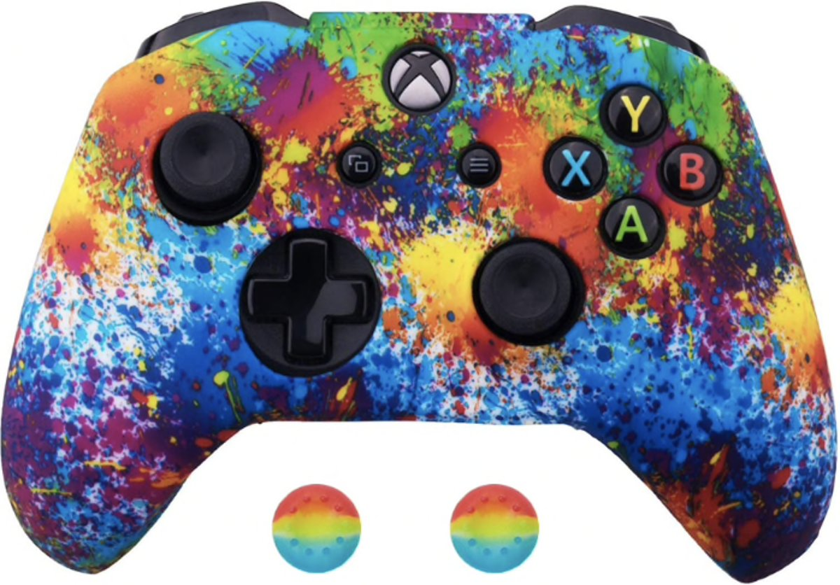 Xbox Controller Silicone Hoes - Regenboog (Special edition)